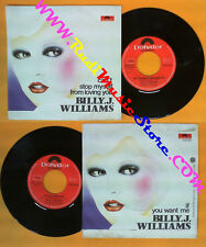 LP 45 7'' BILLY J.WILLIAMS Can't stop myself from loving you If you no cd mc dvd