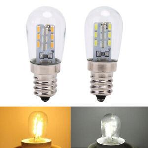 LED Light Bulb E12 Glass Shade Lamp Lighting For Sewing Machine Refriger_cd