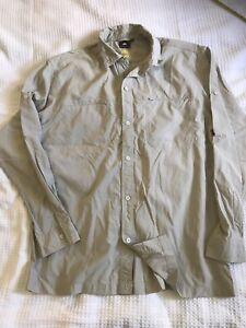 McKinley Shirt Large Dry Plus UV Protection Outdoors Walking Hiking Fishing