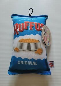 *NEW* SPOT FUN FOOD *RUFFUS*  TOY BAG OF CHIPS FOR DOGS