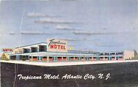 Atlantic City New Jersey 1959 Postcard Tropicana Motel