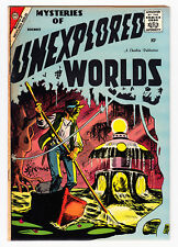MYSTERIES OF UNEXPLORED WORLDS #10 DITKO CVR & ART 1958