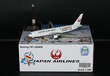 """JAL Japan Airlines 767-300ER """"Doraemon"""" Reg:JA656J JC Wings 1:200 Diecast XX2564"""