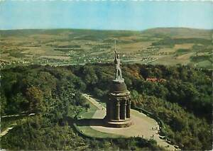Postcard Germany 1967 Hermannsdenkmal Teutoburger Wald