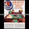 ASTERIX & Fromage LA VACHE QUI RIT Personnages 1967 - Pub / Publicité / Ad #A16