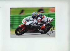 Valentin debise CIP MOTO HONDA 250 CC Moto GP ASSEN 2009 firmato Fotografia