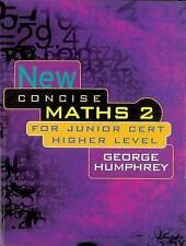 New Concise Maths: For Junior Certificate Higher Level v. 2, Good Condition Book