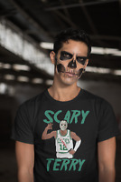Scary Terry Shirt Boston Celtics Basketball Terry Rozier Boston Celtics Shirt
