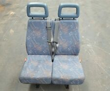 96 05 LDV CONVOY 400 MINIBUS THIRD ROW DOUBLE SEAT BLUE FABRIC REF FE86 #1589