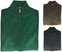 Men's Sweater Cashmere Silk Full Zip Men Sweater Made in Italy