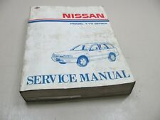 NISSAN y10 1990 Sunny Officina Manuale Manuale Di Riparazione Repair Manual