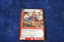 DUEL MASTERS Explosive Fighter Ucarn E3/Y1  FOIL HOLO PROMO -Light Played WOTC