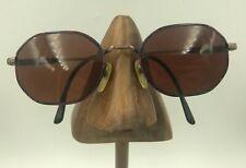 Vintage Picone Sport Society Opticks P865 Purple Oval Sunglasses FRAMES ONLY