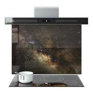 Splashback Glass Kitchen Cooker Panel Nebula Space Hubble 9159 120 x 90 (WxH)