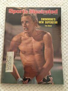 FM11-61 Sports Illustrated Magazine 8-4-1975 TIM SHAW SWIMMER OLYMPICS
