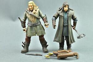 "The Hobbit Unexpected Journey Kili & Fili The Dwarf 4"" Bridge Direct"