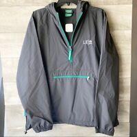 Starbucks Leadership 2019 Black pullover long sleeve zip anorak jacket size:M