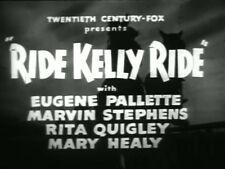 RIDE, KELLY, RIDE (1941) DVD EUGENE PALLETTE, MARVIN STEPHENS