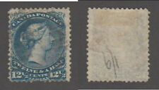 Used Canada 12c Queen Victoria Large Queen Stamp #28 (Lot #17869)