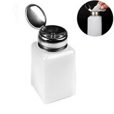 200ML Nail Polish Remover Pump Empty Bottle Alcohol Liquid Push Down Dispenser