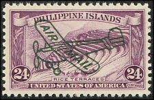 Scott # C50 - 1933 - ' Rice Terraces ', Ovptd. Air Mail