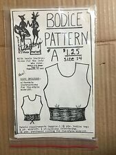 """Shirley's Square Dance Bodice Pattern """"Docie Doe"""" #A Size 14 A410"""