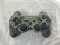 Tested Official Playstation 3 DualShock 3 Sixaxis Urban Camo Controller PS3 OEM