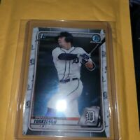 Spencer Torkelson 2020 Bowman Chrome Draft 1st Bowman BD-121 Detroit Tigers