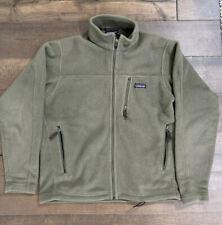 Patagonia Men's Fleece Jacket Synchilla Khaki Green M