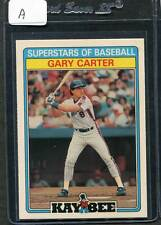 1987 Kaybee Gary Carter #8 Mint (A)