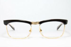 BELMER Super-660 Gold Filled Brille Eyeglasses Lunettes Bril Occhiali Double 60s