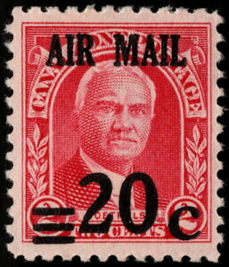 Canal Zone - 1929 - 20 Cents Surcharged Goethals Airmail Issue #C5 Mint F-VF