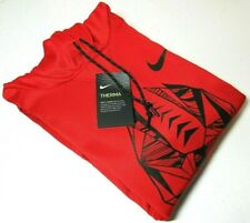 NIKE FOOTBALL PULLOVER HOODIE 905957-657 - RED - LARGE - 100% AUTHENTIC