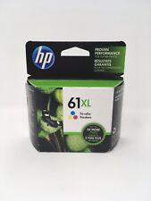 NEW HP 61XL Tricolor Ink Cartridge(CH564WN) High Yield, OEM Sealed Exp. 2019