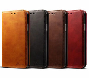 Real Genuine KDS Leather Wallet Flip Card Case Cover For iPhone 12 11 Pro XS MAX
