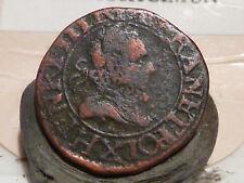 CIRA(7) (14) - HENRI III - DOUBLE TOURNOIS - 1587 - AMIENS - RARE & QUALITE TB+