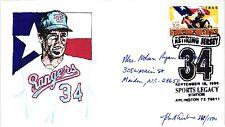 1996 Nolan Ryan Baseball Jersey Retired-Personalized Reverse-Hp Cachet