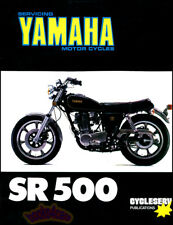 YAMAHA SR500 SHOP MANUAL SERVICE REPAIR BOOK SR 500 SERVICE SINGLE 75-83