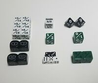 MTG Dice Starter Set with Spindown d10s / 22 Unique Magic The Gathering Counters