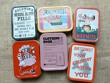 Advertising Collectable Tobacco Tins