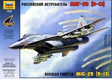 1:72 Zvezda #7278 - Russian Fighter MIG-29 (9-13) FULCRUM - Neuheit !