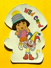 Dora the Explorer & Sock Monkey Wild Card Joker Single Swap Playing Card