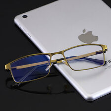 Transition/Photochromic Bifocal for distance reading glasses Anti blue ray Gold