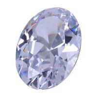 Perlen Weiß//Klar Lose Cubic Zirkonia Schliff und Größe Auswahl Kristalle Cz