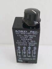 MAGNECRAFT STRUTHERS-DUNN MSD TIME DELAY RELAY 282XDX100-001 0.1-1 SEC