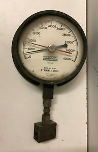 Enerpac Test Systems 0-40000 Gauge Model 31-402 Stainless Steel