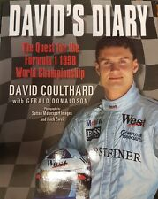 DAVID'S DIARY THE QUEST FOR THE F1 1998 WORLD CHAMPIONSHIP