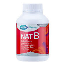 100 Capsules NAT B 1000 Mg use for healthy function of the nervous system
