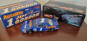 Jeff Gordon 1989 Raced in 1991 Autolite Spark  #1 RCCA Action 1:24 Diecast Bank