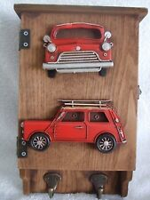 Decorative Wall Hanger Car Key Box Hand Painted /Ornament /Gift Red Mini